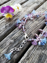 Dainty Flowers bracelet, handmade, delicate, bridesmaid or prom bracelets. you choose