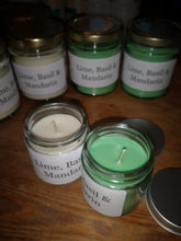 60ml lime, basil & mandarin candles