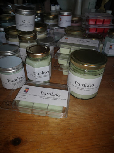 bamboo by gucci inspired fragranced candles
