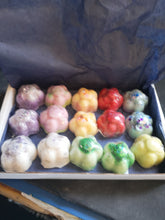 Themed sample boxes,  15 individually wrapped sample wax melts.