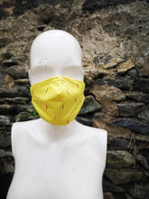 Gents face mask, face protection, germ catcher, sneeze guard. full face 3+ layered fabric