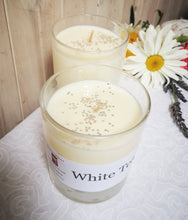 Hand poured soy wax candles & melts. White Tea,