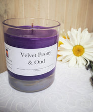 Velvet Peony & Oud Hand poured Soy wax Candles & melts,