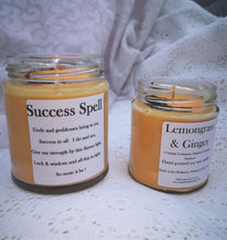 Candle spell for Success: 190ml soy wax scented candle