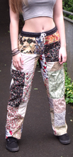Festival, Hippie, patchwork, Pants, Handmade patchwork trousers, alternative lounge pants