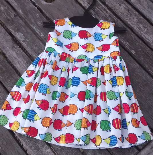 Tiny Baby Dress, 40cm chest 5lb birth weight