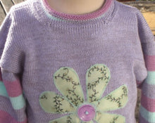 Childs cotton sweater