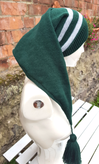 slytherin extra long pixie hat