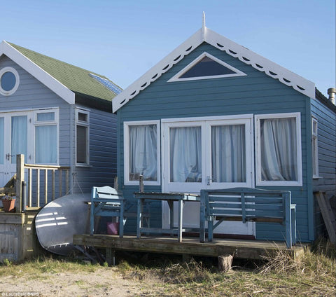 Beach Hut for Sale Hengistbury Head, Mudeford