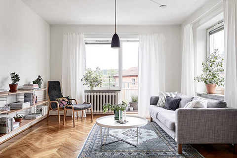 Nordic home interior - Finland apartment