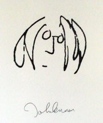 John Lennon self portrait