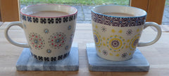 Fika ~ Sweden's coffee, cake and community philosophy. Moroccan Mugs.