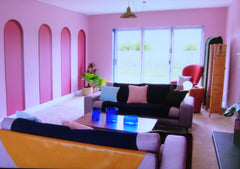 Interior Design Masters ~ BBC 2 ~ Episode 1 ~ Jim's Lounge