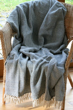 Fair Trade Throw / Blanket Powder Blue