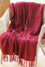 Soft Throw ~ Curlew ~ Available in Heather, Grey or Red