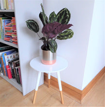 White wooden side tables ~ Present Time (small)