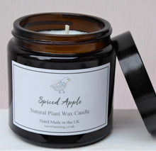 Brown Glass Pharmacy Jar Scented Candles ~ Heaven Scent ~ Spiced Apple