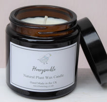 Brown Glass Pharmacy Jar Scented Candles ~ Heaven Scent ~ Honeysuckle