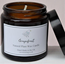 Brown Glass Pharmacy Jar Scented Candles ~ Heaven Scent ~ Grapefruit
