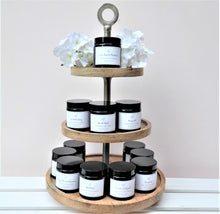 Brown Glass Pharmacy Jar Scented Candles ~ Heaven Scent