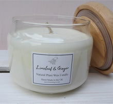 Wooden Lid Pop Jar Scented Candle 325ml ~ Pink Fizz & Grapefruit ~ Jasmine & Orange ~ White Jasmine ~ Black Oud ~ Mulled Pear & Spices ~ Limeleaf & Ginger