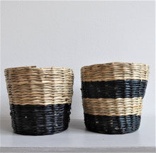 Mini Seagrass Baskets ~ Set of Two ~ Sass & Belle