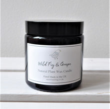 Scented Vegan Candle in Brown Glass Apothecary Jar ~ ten fragrances