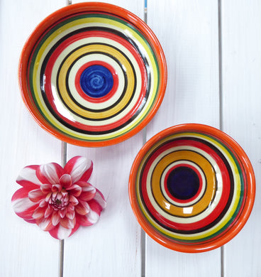 Striped Spanish Tapas Bowls by Verano (two sizes)