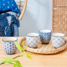 Sashiko Cups by Sass & Belle