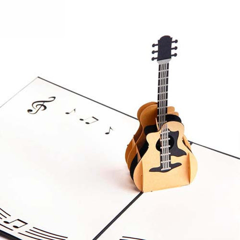 Craft Art Guitar Card