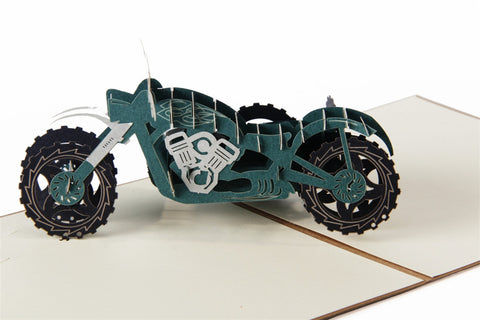 Craft Art Motor Bike Card