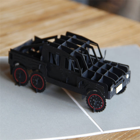 Craft Art Jeep Card