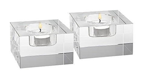 Badash Tea Light Block Pair- Dakota H2XL3""