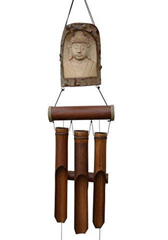 Cohasset Gifts 634T Indonesian Buddha In Tree Bell Chime