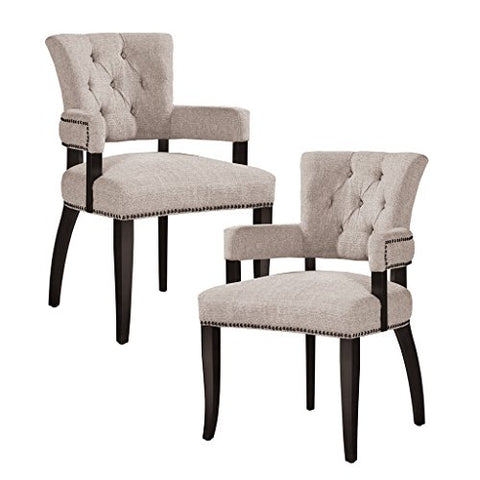 Dining Arm Chair (Set of 2) See below/Cream