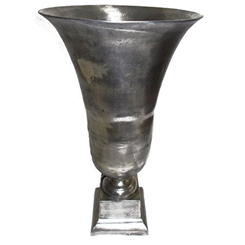 A&B Home 39592 Aluminum Vase, 15.5 by 28""