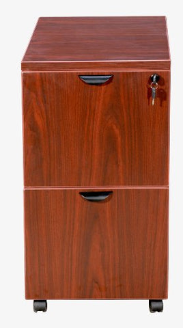 Boss Office Products N149-C Mobile Pedestal in Cherry