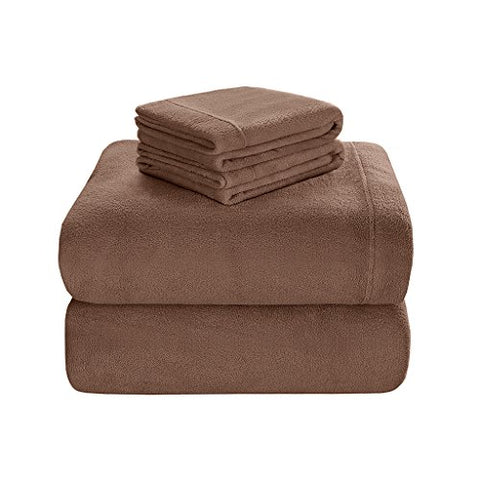Premier Comfort BL20-0451 Soloft Sheet Set, Queen, Mink