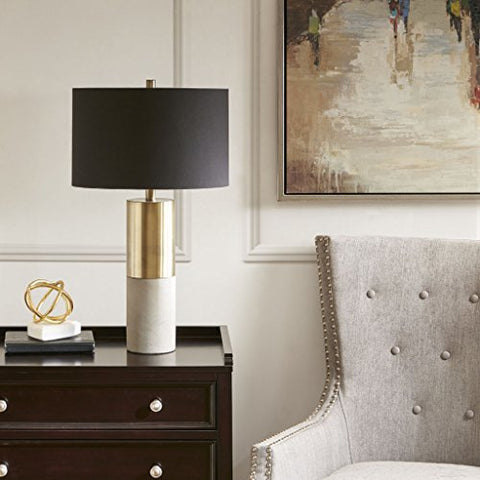 Madison Park Signature Fulton Table lamp Gold/Black See below