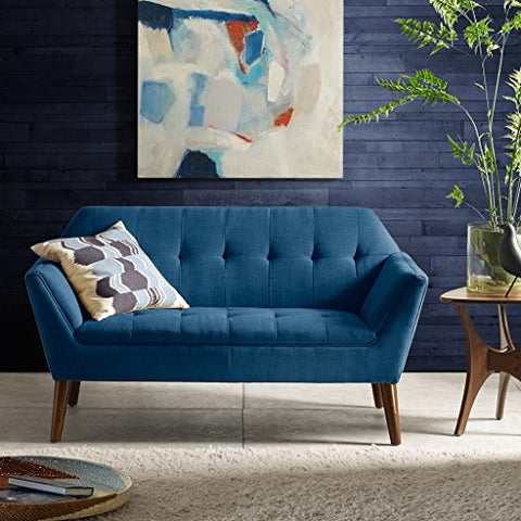 INK+IVY Newport Loveseat Blue See below