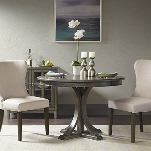 Madison Park Signature Helena Round Dining Table Reclaimed Grey See below