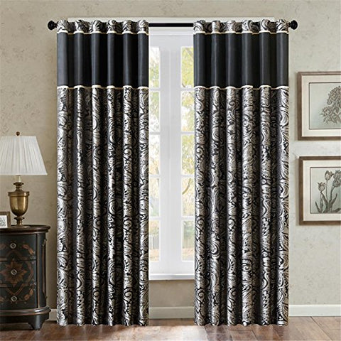 Madison Park Aubrey Window Panel Pleated Shade, 84 by 50""