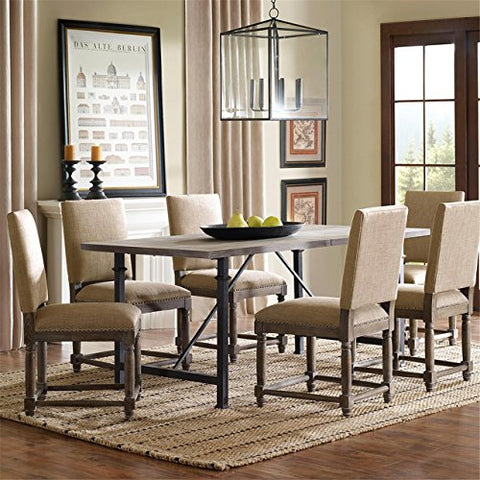 Madison Park FPF18-0185 Cirque Dining Chair (Set of 2)
