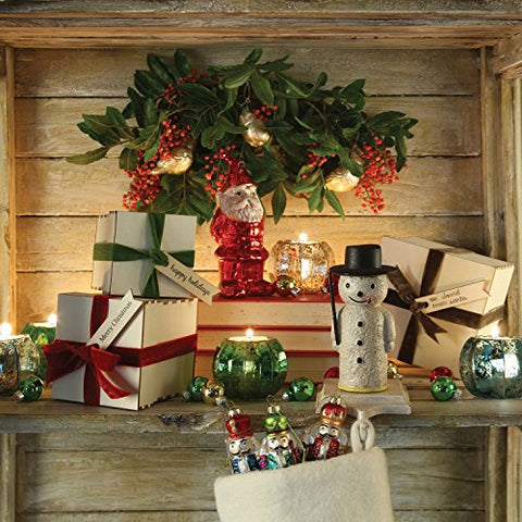HomArt Snowman Stocking Holder - Cast Iron