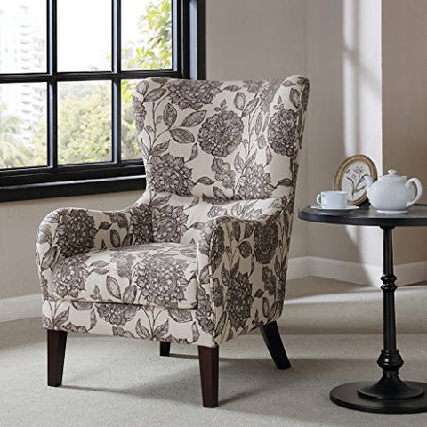 Madison Park FPF18-0428 Arianna Swoop Wing Chair