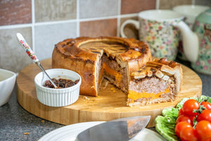 Cheese & Pickle Speciality Pie 4lb