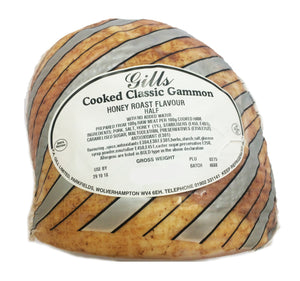 Gills Classic Honey Roasted Ham - Half
