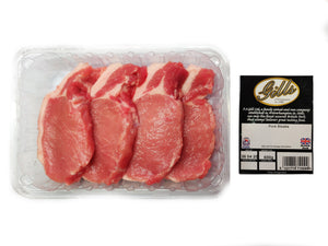 Pork Loin Steaks - 600g