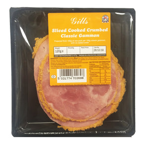 Gills Classic Crumbed Ham - Sliced 120g