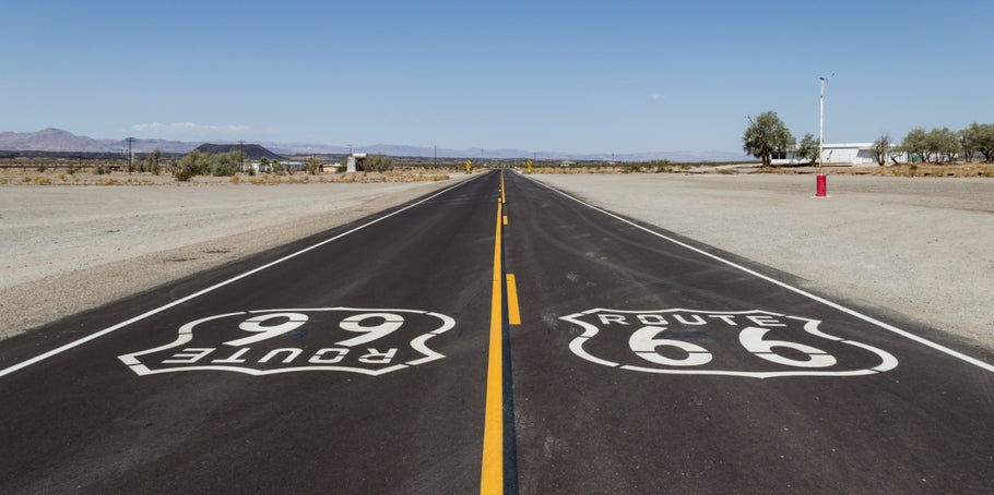 """Get your kicks at Route 66"" a True American Road Trip"